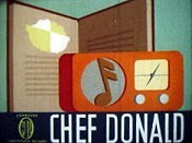 Chef Donald Cartoon Picture
