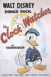 The Clock Watcher Cartoon Picture