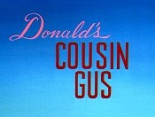 Donald's Cousin Gus The Cartoon Pictures