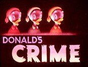 Donald's Crime Cartoon Picture