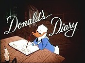 Donald's Diary Pictures Cartoons