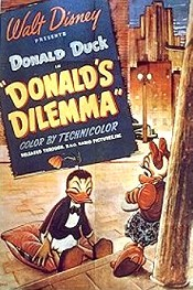 Donald's Dilemma Cartoon Character Picture