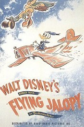 The Flying Jalopy Cartoon Picture