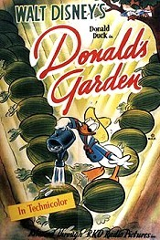 Donald's Garden Free Cartoon Pictures