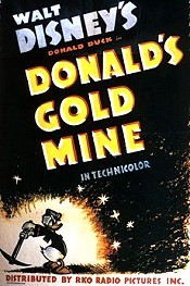 Donald's Gold Mine Free Cartoon Picture