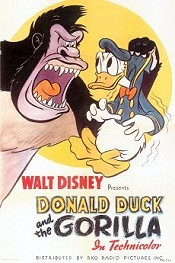 Donald Duck And The Gorilla Free Cartoon Pictures