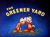 The Greener Yard Cartoon Picture
