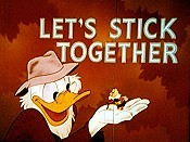 Let's Stick Together Cartoon Character Picture