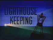 Lighthouse Keeping Cartoon Picture