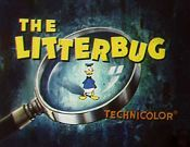 The Litterbug Cartoon Character Picture