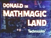 Donald In Mathmagic Land Cartoon Character Picture