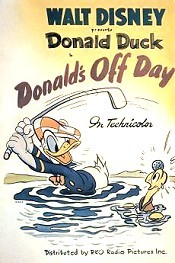 Donald's Off Day Pictures Of Cartoon Characters