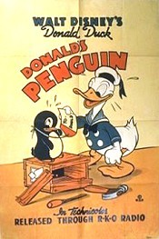 Donald's Penguin Cartoon Character Picture
