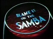 Blame It On The Samba Cartoon Picture