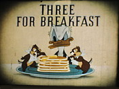 Three For Breakfast Cartoon Character Picture