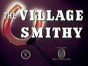 The Village Smithy Free Cartoon Picture