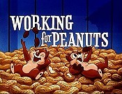 Working For Peanuts Cartoon Character Picture