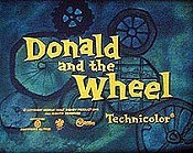 Donald And The Wheel Cartoon Picture