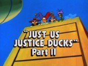 Just Us Justice Ducks, Part 2 The Cartoon Pictures