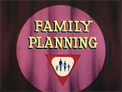 Family Planning Cartoon Character Picture