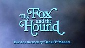 The Fox And The Hound Free Cartoon Picture