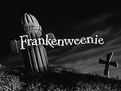 Frankenweenie Video