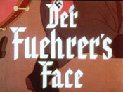 Der Fuehrer's Face Cartoon Picture