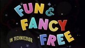Fun & Fancy Free The Cartoon Pictures