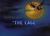 The Cage Picture Of The Cartoon