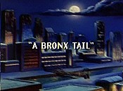 A Bronx Tail Picture Of Cartoon