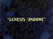 Genesis Undone Cartoon Picture