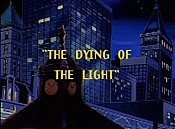 The Dying Of The Light Cartoon Picture