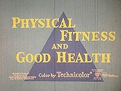 Physical Fitness And Good Health Cartoon Picture