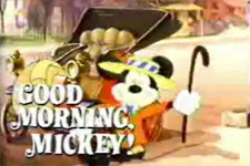 Good Morning, Mickey!  Logo