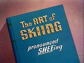 The Art Of Skiing Free Cartoon Picture