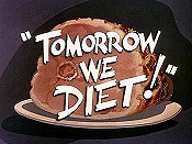 Tomorrow We Diet! Free Cartoon Pictures