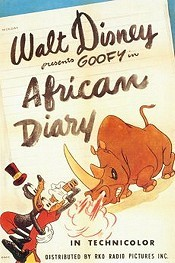 African Diary Free Cartoon Picture
