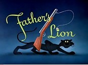 Father's Lion Cartoon Picture