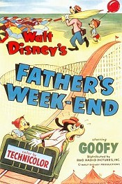 Father's Week-End Cartoon Character Picture
