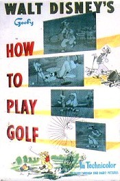 How To Play Golf Cartoon Character Picture