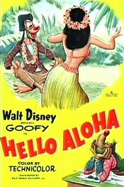 Hello Aloha Cartoon Picture