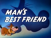 Man's Best Friend Picture Of Cartoon
