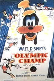 The Olympic Champ Cartoon Character Picture