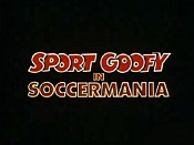 Sport Goofy In Soccermania Cartoon Picture