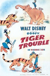 Tiger Trouble Cartoon Character Picture