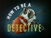 How To Be A Detective Free Cartoon Pictures