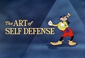 The Art Of Self Defense Cartoon Character Picture
