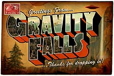 Gravity Falls Episode Guide Logo
