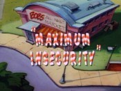 Maximum Insecurity Cartoon Picture