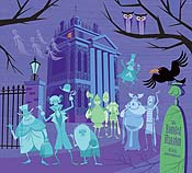 Haunted Mansion Cartoon Picture